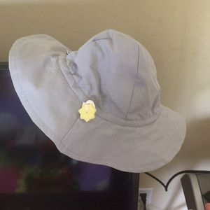 Other - Baby sun hat with strings to tie in place